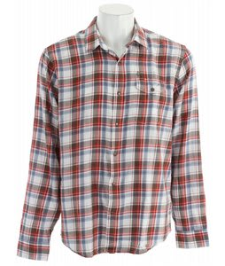 Volcom Rex L/S Shirt Red Fade