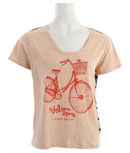 Volcom Riding Freedom Flirt T-Shirt Bellini Peach