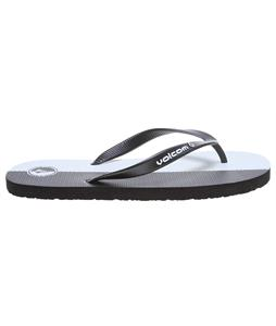 Volcom Rocker Sandals Black/White