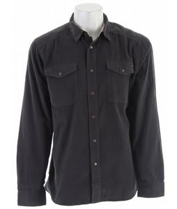 Volcom Rockler L/S Shirt Dark Grey