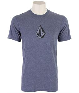 Volcom Say When T-Shirt Matured Blue Heather