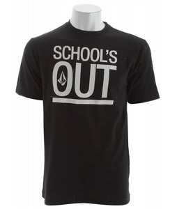 Volcom Schools Out T-Shirt Black