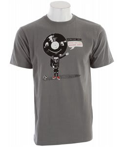 Volcom Scratchy T-Shirt Grey Vintage Heather