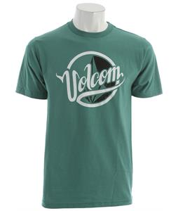 Volcom Scythe Script T-Shirt Jade