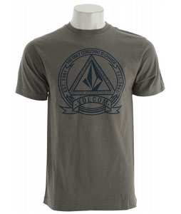 Volcom Seal T-Shirt Grey Vintage Heather