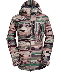 Volcom Shadow Hills Ins Snowboard Jacket Camouflage