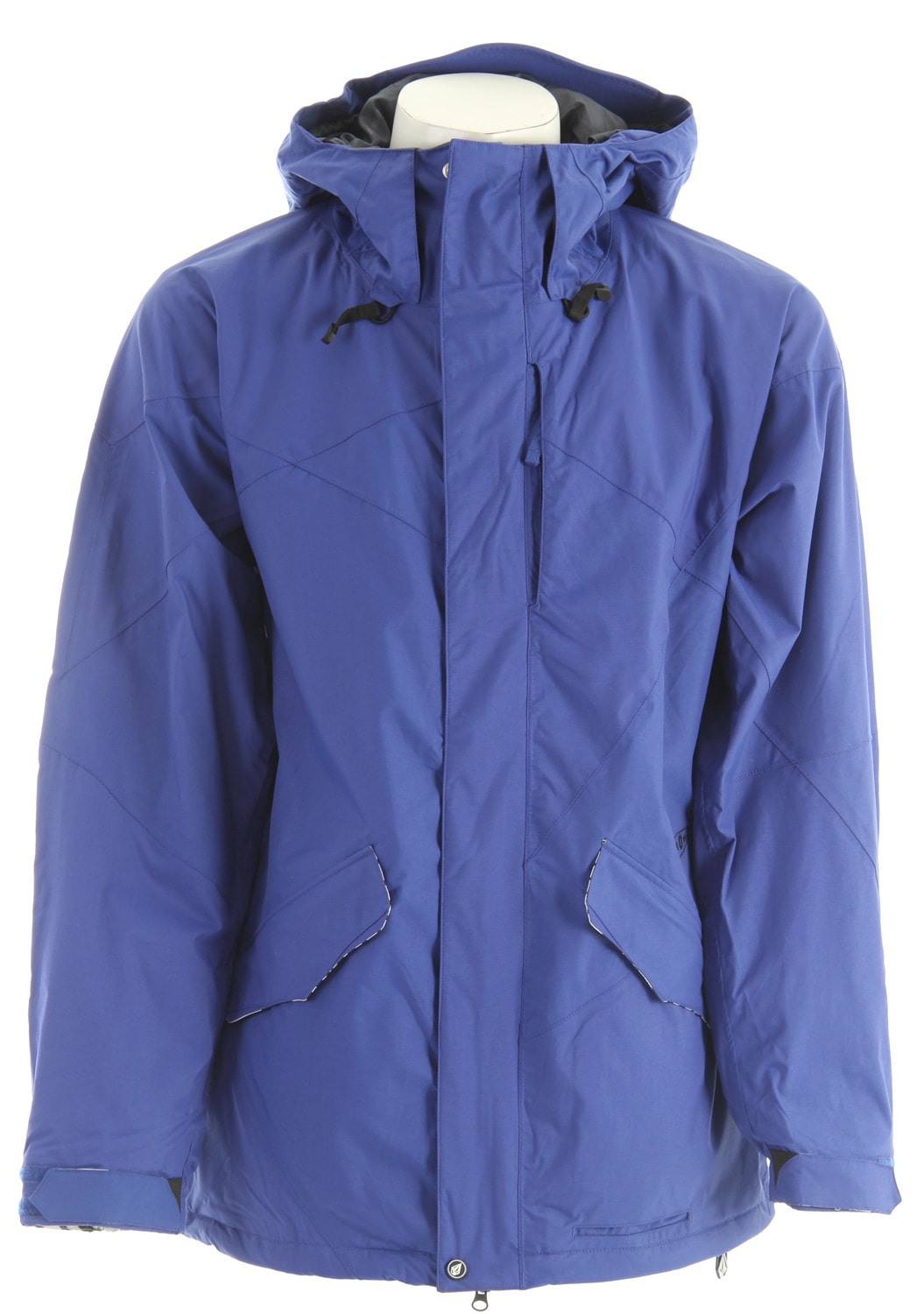 Shop for Volcom Shaper Snowboard Jacket Strobe Blue - Men's