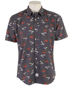 Volcom Sharks Shirt Iron Grey