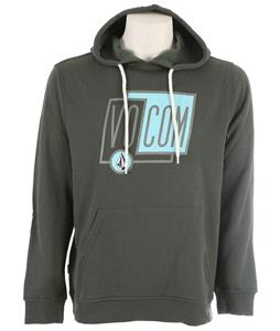 Volcom Sheared Pullover Hoodie Jungle Green