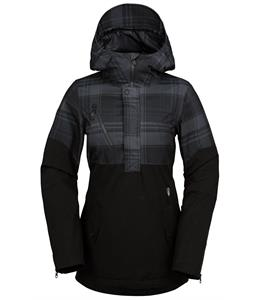 Volcom Ship Stretch Pullover Anorak Snowboard Jacket