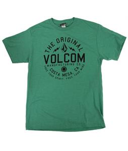 Volcom Shmolly T-Shirt Heather Green