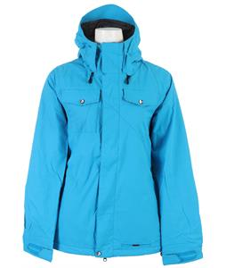 Volcom Shore Insulated Snowboard Jacket Cyan