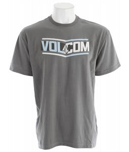 Volcom Side Bar T-Shirt Grey Vintage Heather