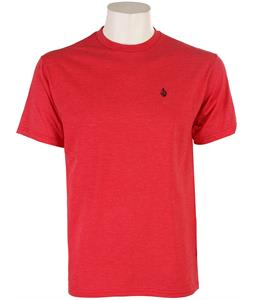 Volcom Simple Crew T-Shirt Heather Red