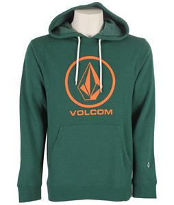 Volcom Single Pullover Hoodie Heather Grass Green