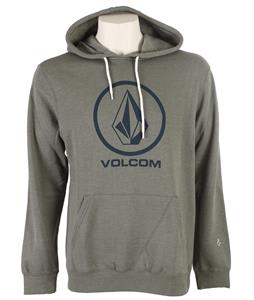 Volcom Single Pullover Hoodie Heather Slate Grey