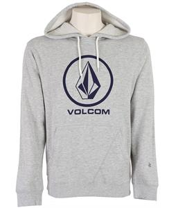 Volcom Single Pullover Hoodie Old Grey Heather