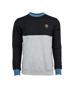 Volcom Single Stone Color Blocked Crew Sweatshirt