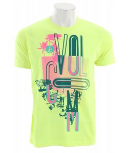 Volcom Skadooze T-Shirt Yellow Flash Heather