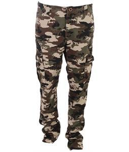 Volcom Slargo Cargo Pants Camouflage