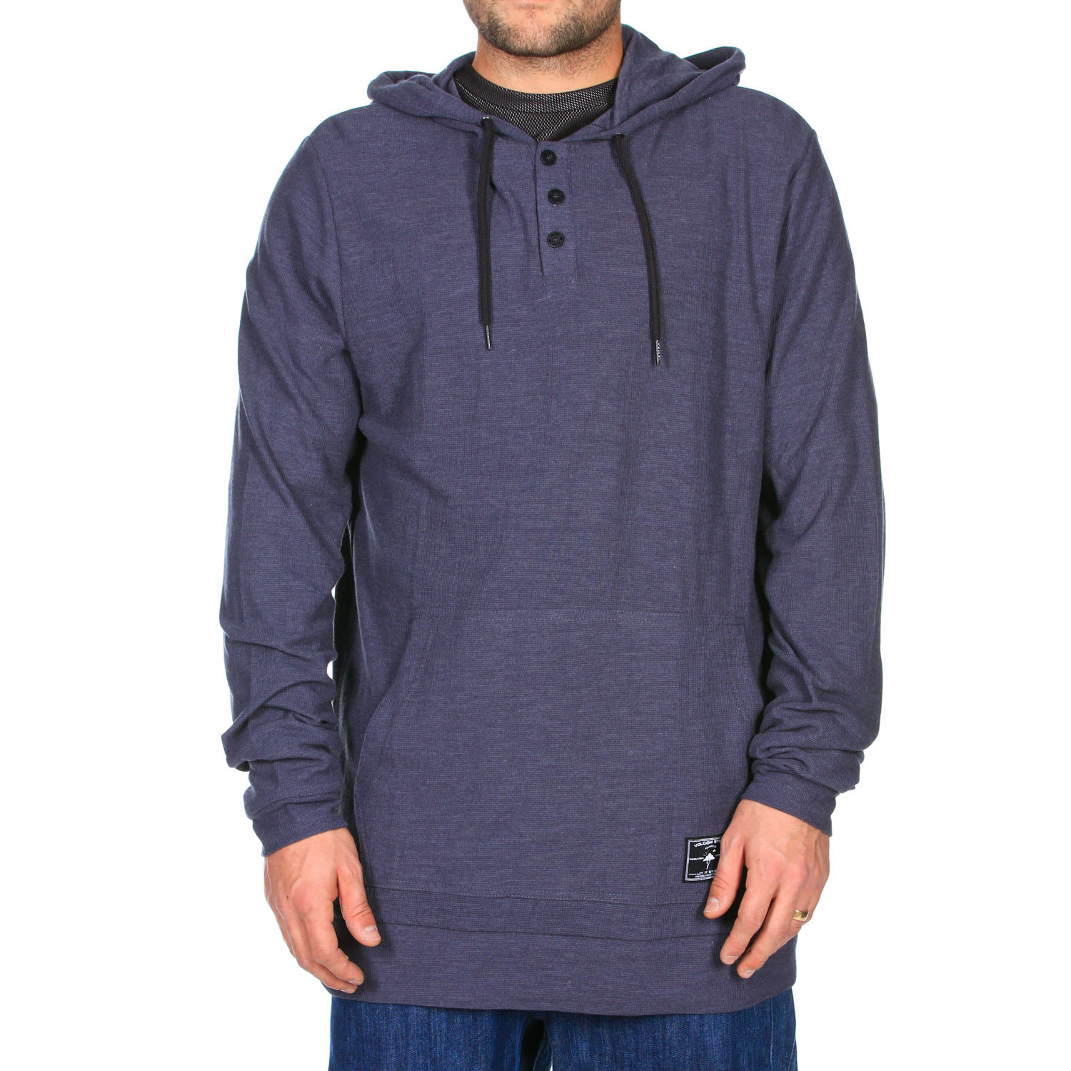 Shop for Volcom Snowside Hoodie Charcoal Heather - Men's