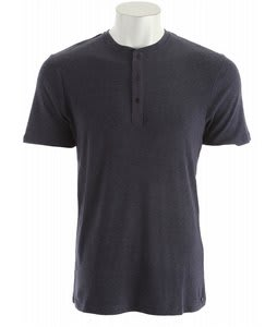 Volcom So Low Henley Shirt Midnight Blue Heather