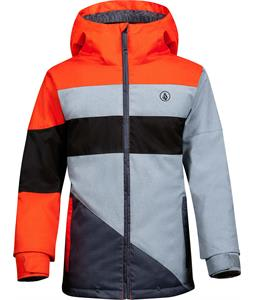 Volcom Social Ins Snowboard Jacket Orange