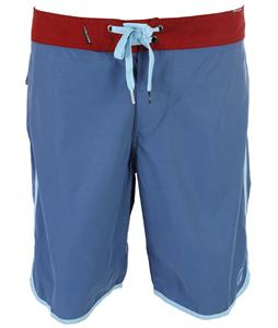 Volcom Solid Scallop 20in Boardshorts Airforce Blue