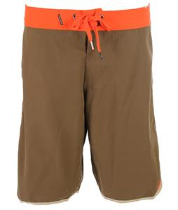 Volcom Solid Scallop 22in Boardshorts Military