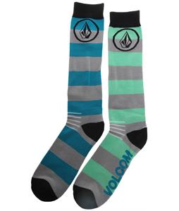 Volcom Soul Tech Socks Teal