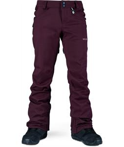 Volcom Species Stretch Snowboard Pants Burgundy