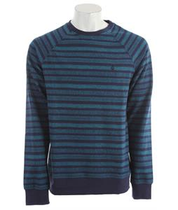 Volcom Speckle Stripe Sweatshirt Blue