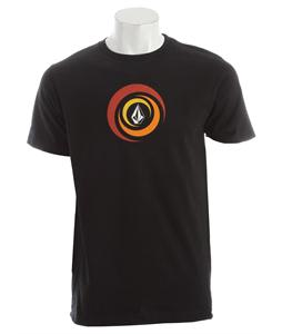 Volcom Spiralina T-Shirt Black
