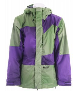 Volcom Sprawl Snowboard Jacket Purple Paint