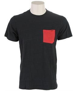 Volcom Springish Twist Pocket T-Shirt Heather Black