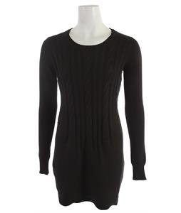 Volcom Stark Sweater Dress Black