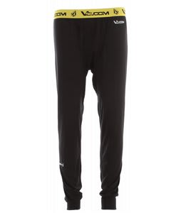 Volcom Stock Hunter Riding Baselayer Pants Black