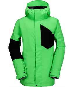 Volcom Stone Block Snowboard Jacket Electric Green