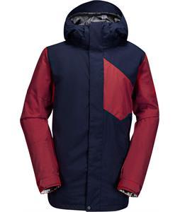 Volcom Stone Block Snowboard Jacket Navy