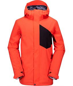 Volcom Stone Block Snowboard Jacket Orange