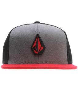 Volcom Stone Color Cap Drip Red
