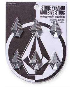 Volcom Stone Studs Stomp Pad Brushed Nickel