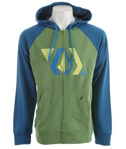 Volcom Stone Shapes Hoodie Electric Green Heather