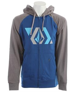 Volcom Stone Shapes Hoodie Marina Blue Heather