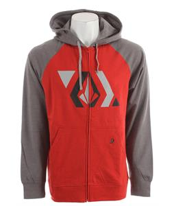 Volcom Stone Shapes Hoodie Pistol Punch Heather