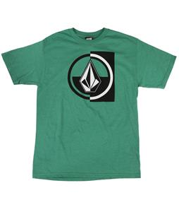 Volcom Stuckin T-Shirt Heather Green