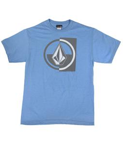 Volcom Stuckin T-Shirt Light Blue Heather