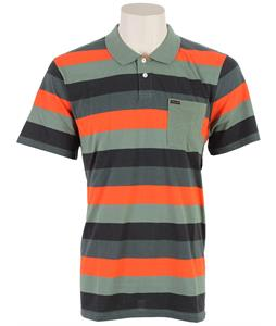 Volcom Sutton Polo Cedar Green