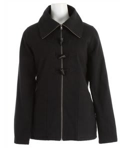 Volcom Switch Back Toggle Coat Black