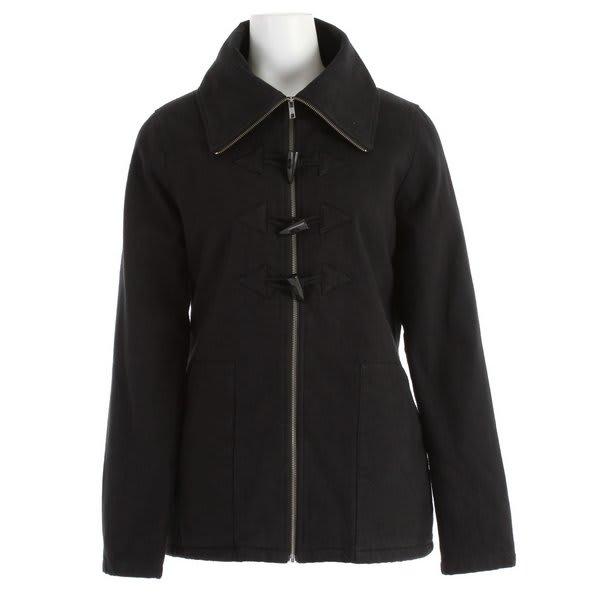 Volcom Switch Back Toggle Coat Black